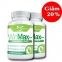 Combo 2 lọ Winmax Plus hỗ trợ điều trị xuất tinh sớm