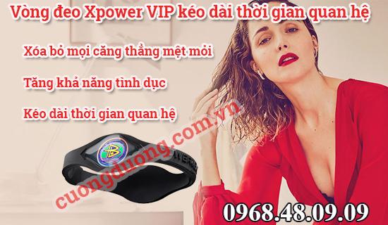 vòng đeo tay Xpower
